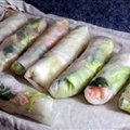 Asian Spring Rolls (shrimp)