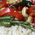 Asparagus Cashew Stir-Fry