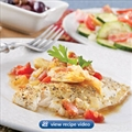 Athenian Fish With Cucumbers and Tomatoes - Publix Aprons