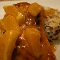 Aunt Harriett's Orange Curry Chicken