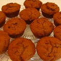 Autumn Pumpkin Molasses Muffins
