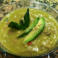 Avocado Cream of Mushroom Soup
