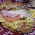 Breakfast Ham & Swiss Bagel Sandwich