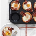 Bacon, Egg, and Toast Cups