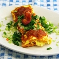 Bacon Omelette - Lightened