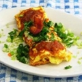 Bacon Omlette - Lightened