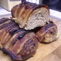 Bacon Wrapped Mini Turkey Meatloaf