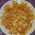 Baked bean Nachos (my special recipe)