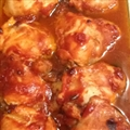 Baked Chicken with Honey Sauce