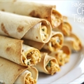 BAKED CREAMY CHICKEN TAQUITOS