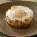 Baked Eggs Napoleon