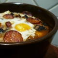 Baked eggs