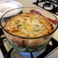 Baked Florentine Crustless Quiche