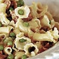 Baked Pasta with Peas and Ham