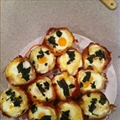 Baked Prosciutto and Egg Cups