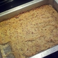 Banana Bread Bars ( Paleo )