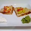 Barbeque Quesadillas with Salsa