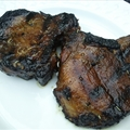 Barbeque Sweet Rosemary Pork Chops