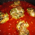 Basic Italian Sauce with Meatballs