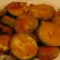 Battered Deep-fried Zucchini Rounds