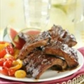 BBQ Baby Back Ribs with Spicy Girls Dry Rub and Mop Sauce