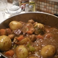 Beef Stew with Mushrooms and Red Wine