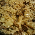 Beef Stroganof