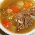 Beef, Vegetable & Barley Soup