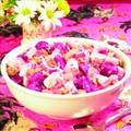 Beet and Potato Chicken Salad