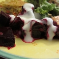 Beetroot Salad with Yoghurt Dressing
