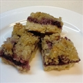 Berry Coconut Slice