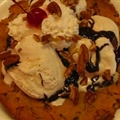 Big Chocolate Chip Sundae Cookie