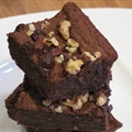 Delicious Gooey Black Bean Brownies (vegan, gluten-free)