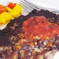 Black Bean Cakes with Southwestern Sauce