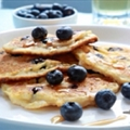 Blueberry Protein Pancakes
