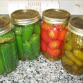Bottled Vinegar Peppers (by Carmela