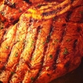 Bourbon-Barbecued Rib-eye