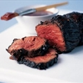 Bourbon-glazed Beef