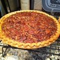 Bourbon Maple Pecan Pie