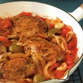 Braised Chicken Thighs with Tomatoes and Green Olives (9)