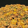 Brazilian Farofa (bread crumbs mix side or stuffing)