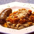 Brigitte Sealings Sausage Pasta Supper