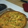 Broccoli, Cheese & Ham Quiche