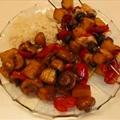 Brown Sugar-soy Sauce Marinated Chicken Kebabs