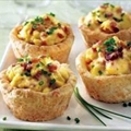 Brunch - Scrambled Egg Biscuit Cups