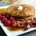 B's Oatmeal Buttermilk Pancakes
