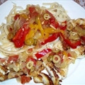 Cajun Grilled Snapper With Linguini And Veracruz Sauce