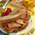 California Club Ham Sandwich