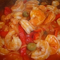 Camarones Guisados- Shrimp Stew