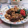 Beef - Campbell's Filet Mignon Slices with Mushroom Garlic Sauce